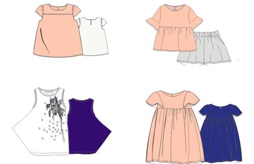 女装,童装款式设计