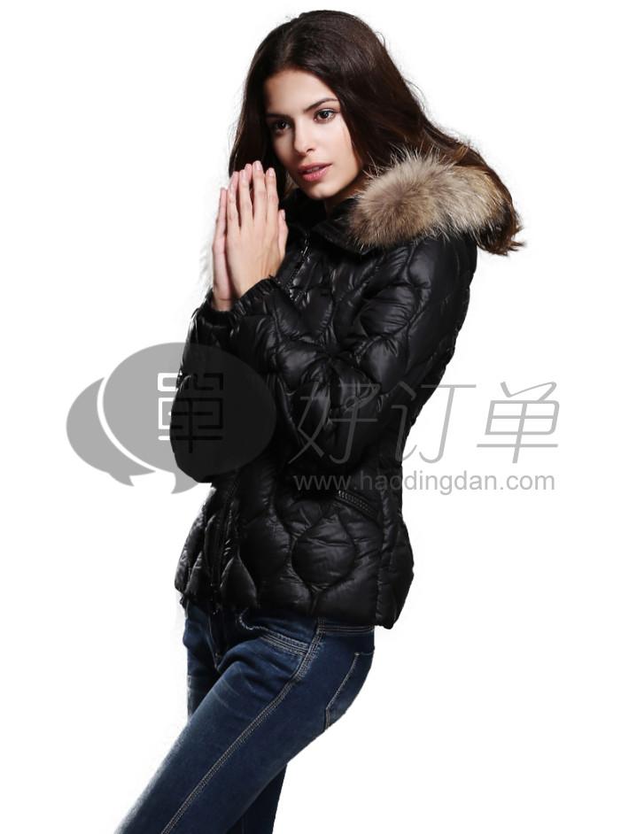 karabearni2015秋冬装纯色个性短外套